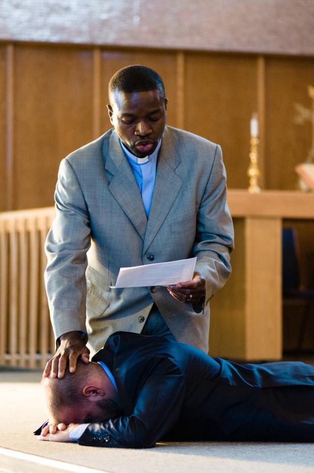 Consécration du pasteur Guy